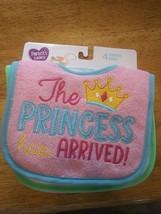 Parent's Choice 4 Infant Bibs Brand New Princess Has Arrived Am I Cute o... - $9.14