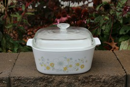 Corning Ware 5 qt Floral Bouquet Covered Casserole Dutch Oven A-5-B 1970... - $49.99