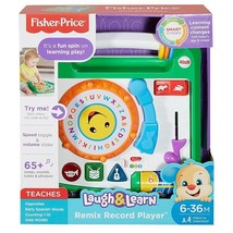 Fisher Price Laugh & Learn Remix Record Player - $28.70