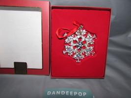 Lenox 2008 Majesty Snowflake Ornament - $27.71