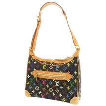 LOUIS VUITTON Boulogne Multicolor Noir Shoulder Bag M92638 France Authentic - $1,190.35