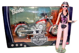 "Pink Label Harley-Davidson Doll Set Tonner 10"" Tiny Kitty +NEW Barbie Mo... - $175.00"