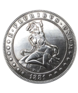 New Hobo Nickel Dollar Angel Woman Sexy Demon Lucifer Design US Casted Coin - $177,99 MXN