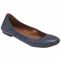 Lucky Brand Womens Emmie Ballet Flat Navy 7 Wide #NA9DW-M601 - $49.99