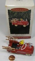 Hallmark Keepsake Kiddie Car Classics Murray Fire Truck 1995 - $11.99