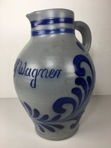 "Beautiful 10.5"" Adolf Wagner Salt Glazed ""HandArbeit"" Handled German Pit... - $59.39"