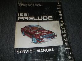 1981 HONDA PRELUDE Service Shop Repair Workshop Manual FACTORY BOOK 81 OEM - $14.22