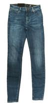 Armani Exchange J01 Super Skinny Cropped Mid Rise Jeans Woman Blue denim... - $45.53