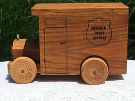 1976 Toystalgia Armored Truck Savings wooden truck bank - $10.00