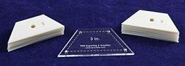 "3"" Half Hexagon - 51 Piece Mylar Set - $19.99"