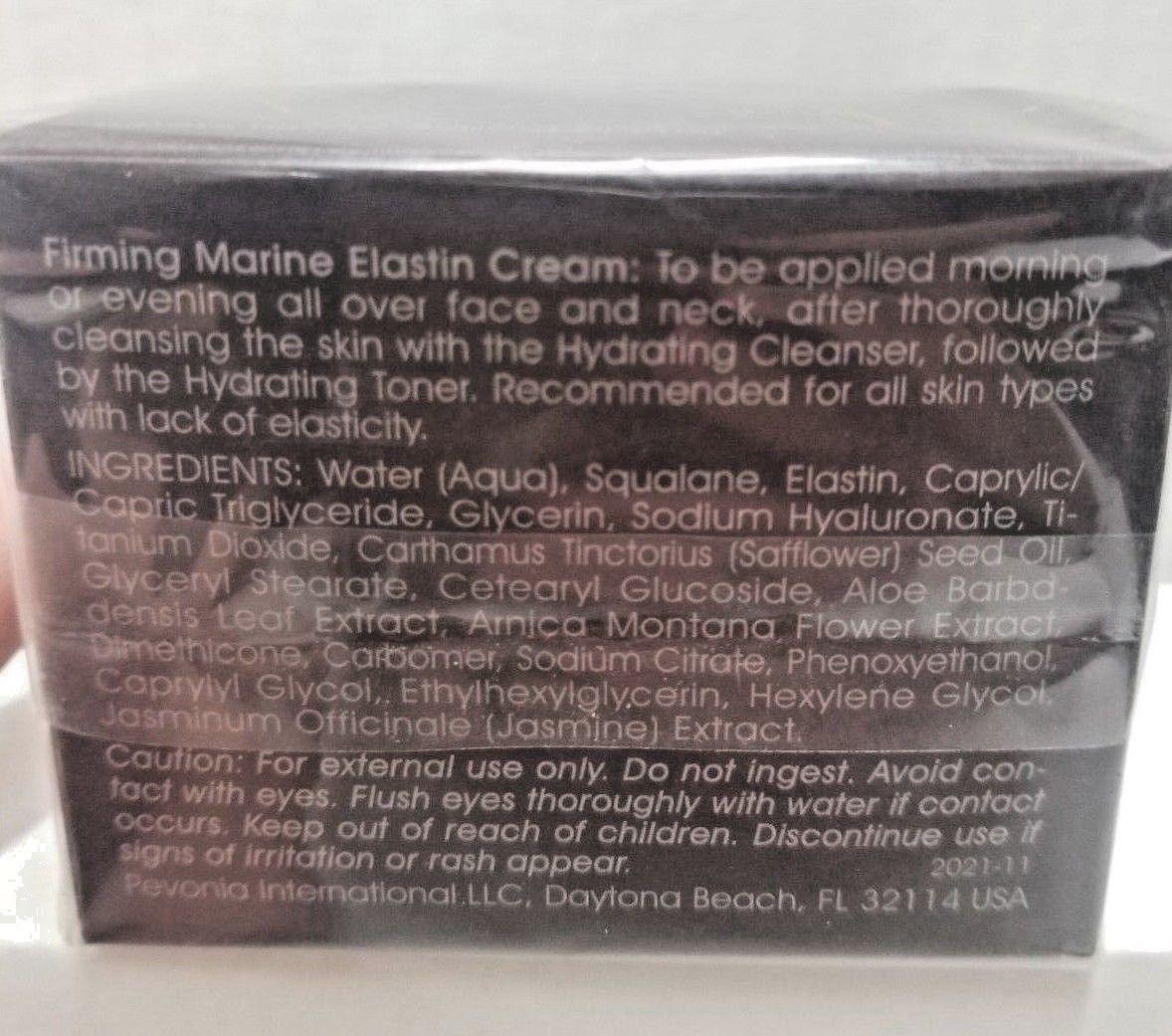 Pevonia  Power Repair - Firming Marine Elastin Cream  50ml  New In Box $75   (V)