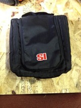 Sports Illustrated Hanging Toiletry Shaving Kit Bag Black (b32f) - $13.56