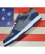 Nike Dunk Low Premium CL Denim Blue Shoe Vtg 2006 [304714-441] Levis Men's 10.5 - $598.22