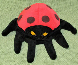 FOLKMANIS FURRY FOLK LADYBUG GLOVE PUPPET PLUSH FULL BODY PLUSH RED BLAC... - $11.88