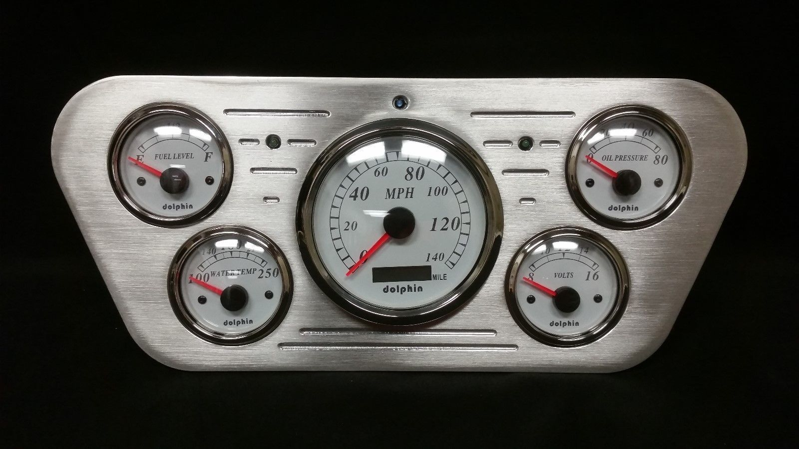 1953 1954 1955 Ford Truck 5 Gauge Gps Dash And Similar Items F100 Pick Up Cluster White