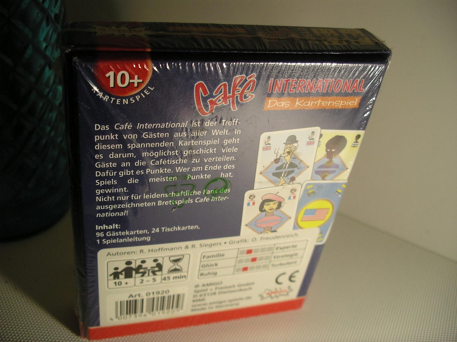 Café International (Board Game) by Amigo.