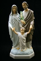 "Holy Family Joseph Jesus Mary Catholic 15"" Statue Sculpture Vittoria Col... - $129.95"