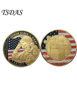 Memorial Coins OMAHA BEACH Commemorative of United States With Gold Plat... - $5.50