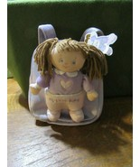 New BABY GUND My Little Baby Kylah Backpack With Baby & Extras-Purple-NWT - $15.00