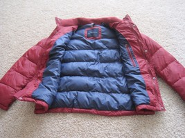 BNWT Tommy Hilfiger Mens Puffer Jacket, L, Red, Wind resistant, Super warm, $195 image 2