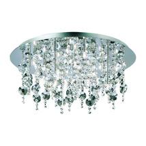 Eurofase 16481-015 Galassia Flush Mounts CHROME 18-light - $988.00