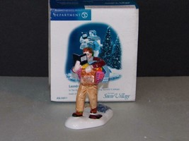 DEPARTMENT 56 SNOW VILLAGE LAUNDRY DAY-MIB - $11.76