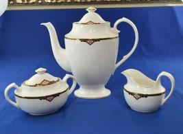 Spode Fine Bone China England 3 Piece Tea Set Harvard  Y8493-J - $89.10