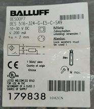 NEW BALLUFF BES 516-324-G-E5-C-S49 PROXIMITY SENSOR BES00P7 10-30VDC image 3