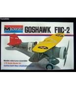 MONOGRAM 1/72 GOSHAWK F11C-2 Model Airplane Kit 6796 NIB 1979 (M60) - $13.85