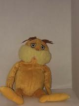 Used Kohls Cares The Lorax Dr. Seuss  orange yellow stuffed animal SHIPN24HRS - $18.69