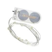 David Tutera Light Strand With Silver Wire, 12 Lights, 4.2-Feet - $14.99