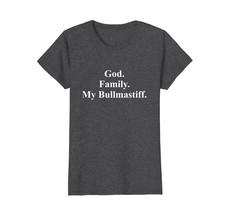 God Family My Bullmastiff Dog T-Shirt - $19.99+