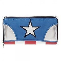 Marvel Captain America Juniors Zip Around Wallet - $29.40