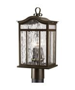 Oil Rubbed Bronze Outdoor Garden Post Lantern ORB Progress Lighting P546... - $114.96