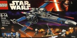 Lego Star Wars 75149 Resistance X Wing Fighter New Building Set - $124.44
