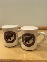 Black Bear Trading Co. Salt & Pepper Shaker Set Country Kitchen Handled ... - $10.50
