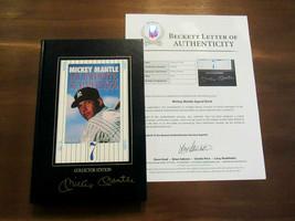 MICKEY MANTLE YANKEES HOF SIGNED AUTO MY FAVORITE SUMMER COLLECTORS ED. ... - $395.99