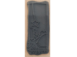 Stampendous 2010 Reaching for the Star Wood Mounted Rubber Stamp #N231 image 2