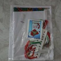 Design Works Winking Santa Cross Stitch Kit 5959 Holiday Christmas Complete Kit - $18.50