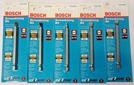 "Bosch SL8103502 8-10 Slotted 3-1/2"" Clic-Change Screwdriving Bit (5 Pack... - $2.48"