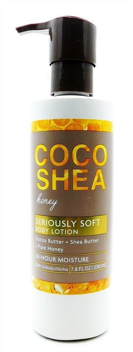 Primary image for Bath & Body Works Coco Shea Honey Seriously Soft Body Lotion 7.8 Fl Oz.