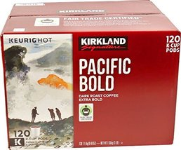 Kirkland Signature Pacific Bold Coffee K Cups, Dark Roast - 119 count, 3... - $59.30