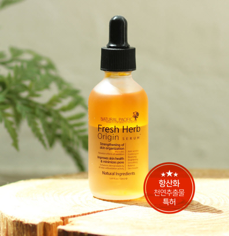 NATURAL PACIFIC Fresh Herb Origin Serum 50ml Control Pore Brightening Smoothing