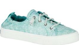 Sperry Top-Sider Womens Aqua Crest Ebb Sandwash Slip-On Sneaker Shoes NIB