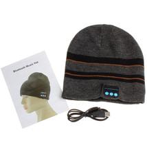 Modern Soft Warm Hat Wireless Bluetooth Smart Cap Headset Headphone Spea... - $32.99+