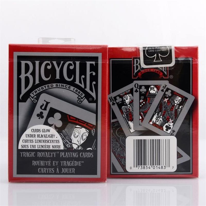 1 DECK Bicycle Tragic Royalty Standard Poker Playing Cards tragicroyalty deck Br - $25.43