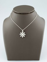 "Tiffany & Co. Sterling Silver Daisy Pendant Necklace w/ 16"" Chain - $133.64"