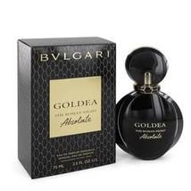 Bvlgari Goldea The Roman Night Absolute Perfume By Bvlgari 2.5 oz Eau De... - $65.23