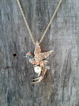 Bird Of Paradise Sweater Necklace - $13.59