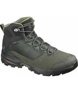 Salomon Outward GTX Mens Green Grey Black Waterproof Trail Hiking Boots ... - £137.67 GBP
